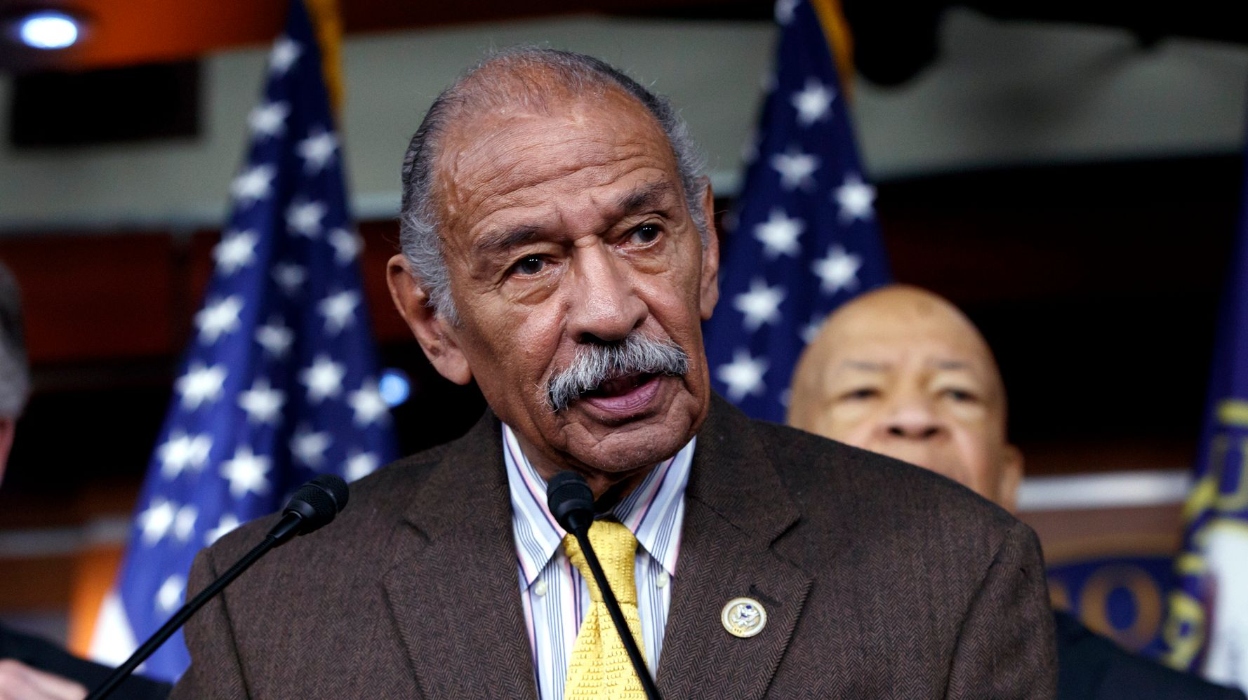 Westlake Legal Group 5db5f6f12100005d31ad407c Former Rep. John Conyers Dies At Age 90