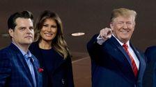 Trump Begrüßt Mit