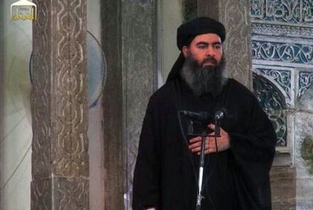 President Donald Trump declared on Sunday, Oct. 27, 2019, that ISIS leader Abu Bakr al-Baghdadi, here...