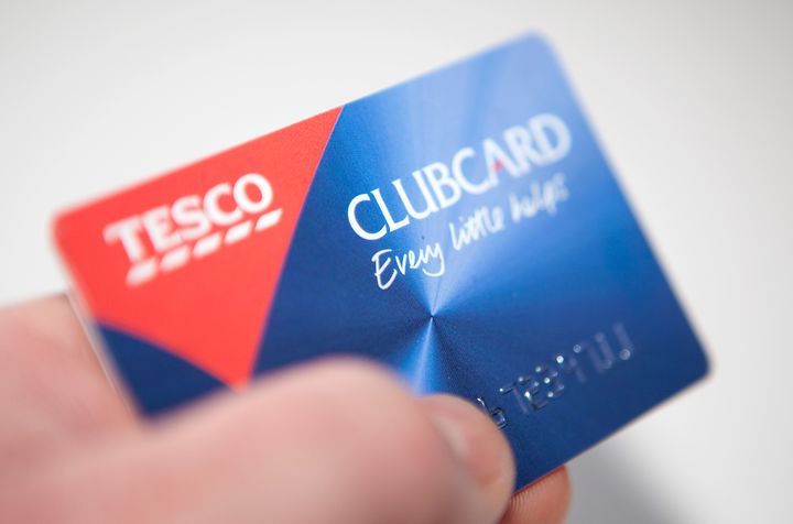 Illustrative image of a Tesco Clubcard. (Photo by: Newscast/Universal Images Group via Getty Images)