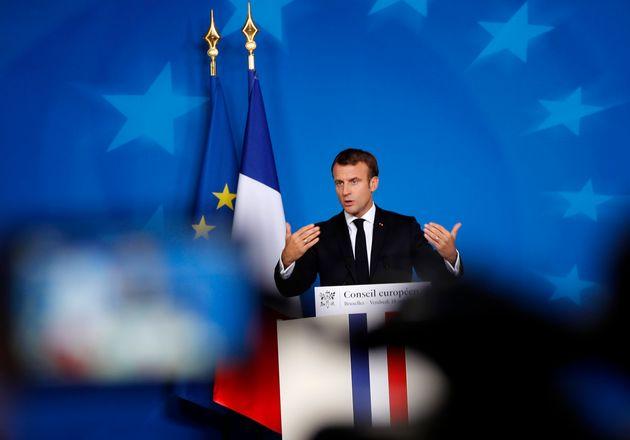 Emmanuel Macron s'est engagé à