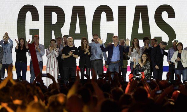 El presidente saliente de Argentina, Mauricio