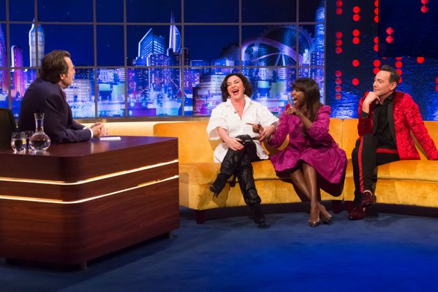 The Strictly judges speak to Jonathan