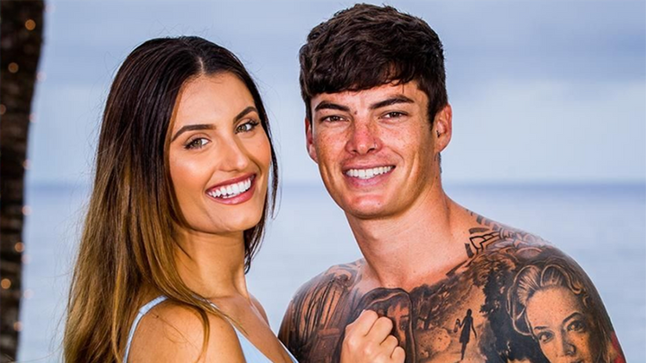 Love Island Australia's Cartier and Adam.