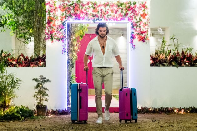 Eoghan Murphy was eliminated from Love Island Australia on Monday