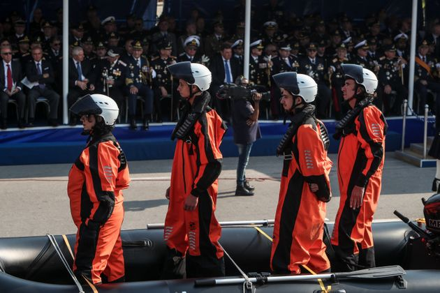 H στρατιωτική παρέλαση για την 28η Οκτωβρίου στη