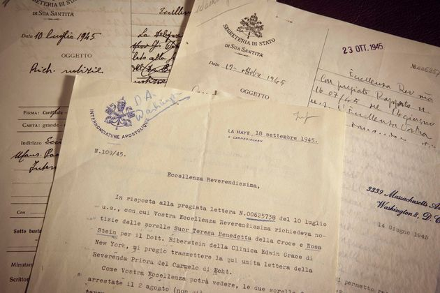 Photo distribuée par les archives secrètes du Vatican