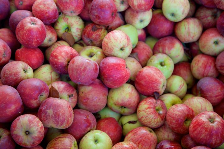 This tangy apple plays well with others, so the Winesap is a favorite for pies with multiple fruits.