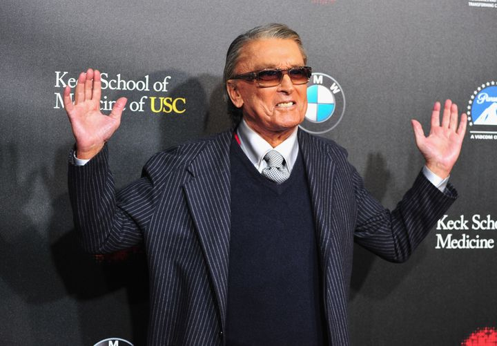 Producer Robert Evans arrives at the 2nd Annual Rebels With A Cause Gala at Paramount Studios on March 20, 2014 in Hollywood,