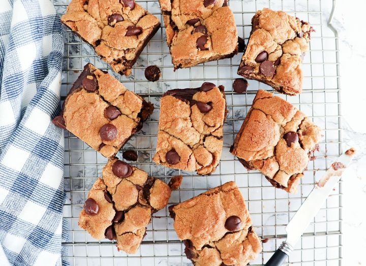 """The lazy man's way to a perfect brownie,"" plus cookie dough, is all you need to create these brookies."