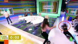 Lorena Castell da el susto en 'Zapeando': la reacción de Dani Mateo lo dice
