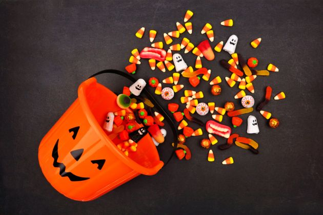 Americans will spend $2.6 billion on 600 million pounds of Halloween candy this year. Most of it comes...