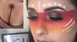 Makeup Artist Called Out For Cultural Appropriation Over Indigenous American Halloween Look Featuring Bullet