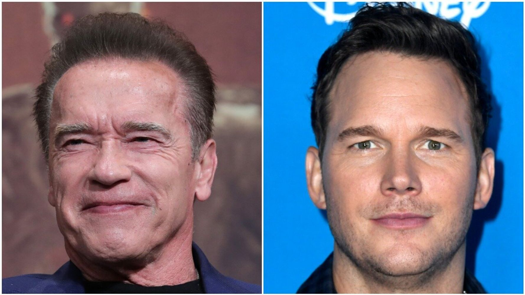 Westlake Legal Group 5db797842100003c3534b4dd Arnold Schwarzenegger Dishes On Doing A Movie With Son-In-Law Chris Pratt