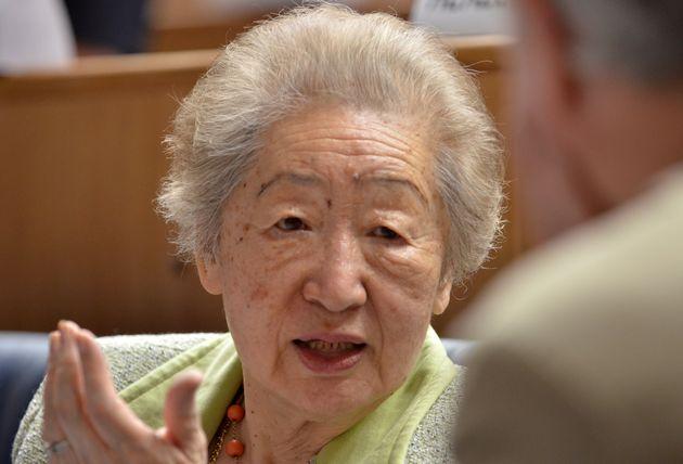 緒方貞子さん(2012年撮影)