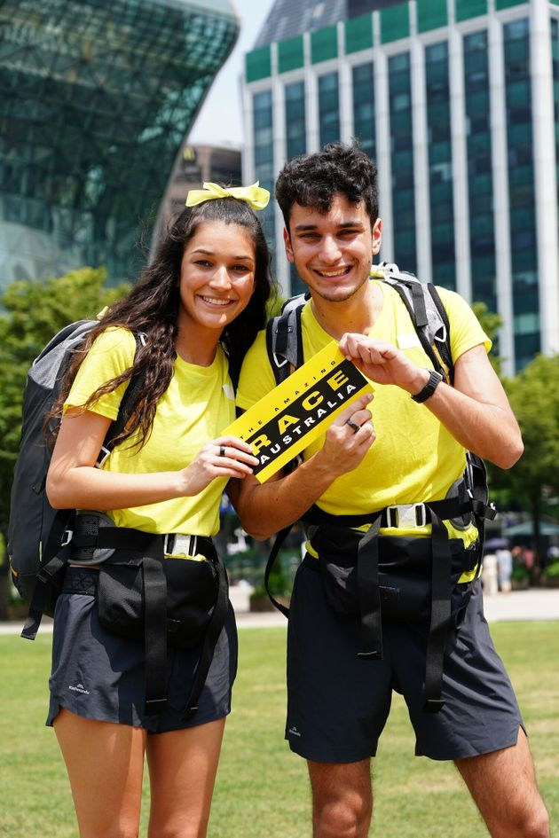 The Amazing Race Australia contestants Alana and Niko