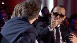 Risto Mejide explica en 'Got Talent' por qué lleva siempre gafas de