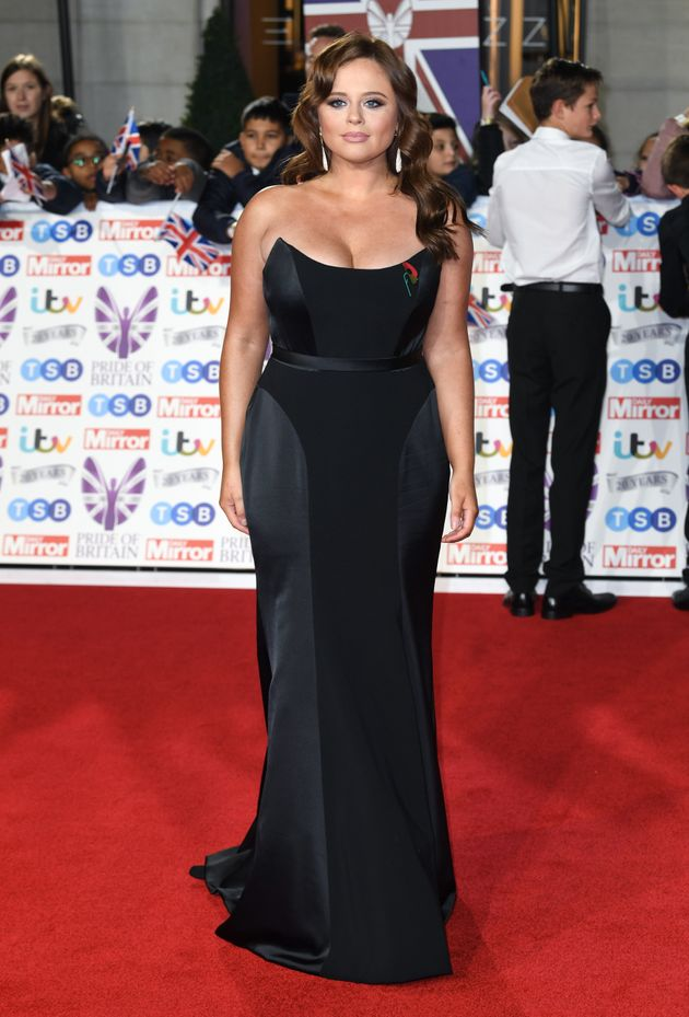 Emily Atack attending the the 2019 Pride of Britain Awards, held at Grosvenor House in London. The Daily...