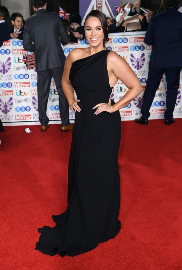 Vicki Pattison attending the the 2019 Pride of Britain Awards, held at Grosvenor House in London. The...