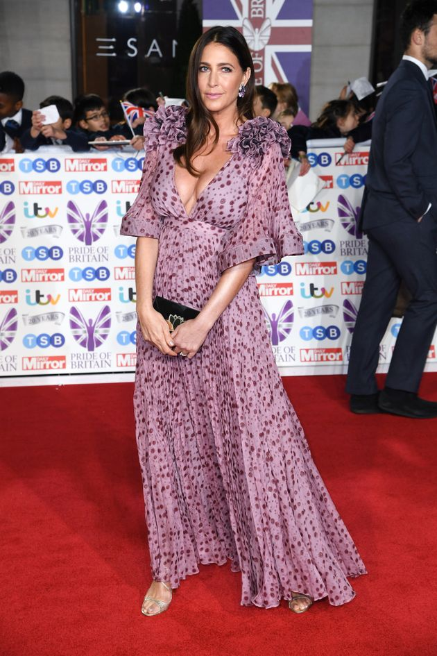 Lisa Snowdon attending the the 2019 Pride of Britain Awards, held at Grosvenor House in London. The Daily...
