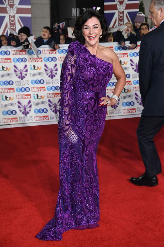 Shirley Ballas attending the the 2019 Pride of Britain Awards, held at Grosvenor House in London. The...