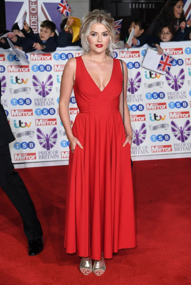 Lucy Fallon attending the the 2019 Pride of Britain Awards, held at Grosvenor House in London. The Daily...