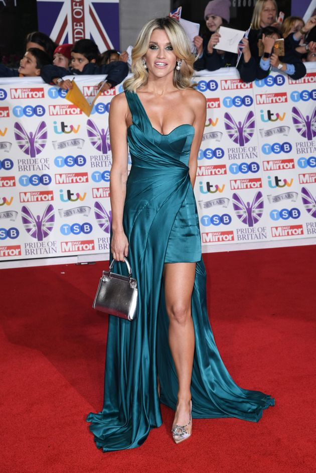 Ashley Roberts attending the the 2019 Pride of Britain Awards, held at Grosvenor House in London. The...