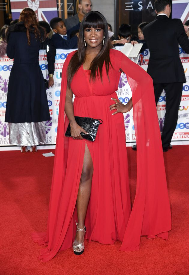 Motsi Mabussi attending the the 2019 Pride of Britain Awards, held at Grosvenor House in London. The...