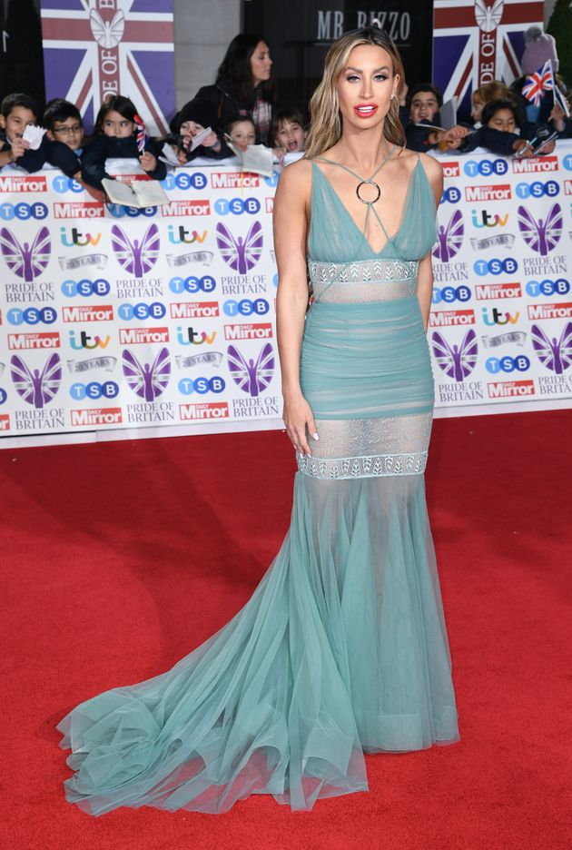 Fern McCann attending the the 2019 Pride of Britain Awards, held at Grosvenor House in London. The Daily...