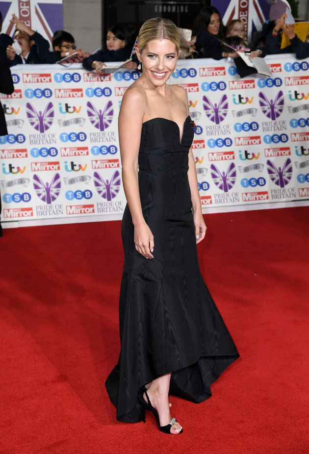Mollie King attending the the 2019 Pride of Britain Awards, held at Grosvenor House in London. The Daily...