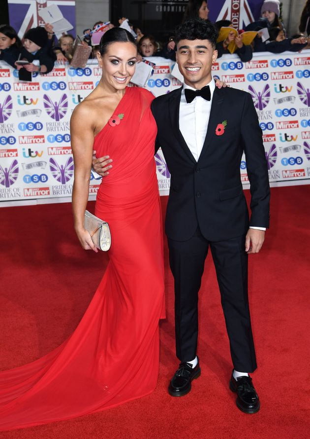 Amy Dowden and Karim Zeroual attending the the 2019 Pride of Britain Awards, held at Grosvenor House...