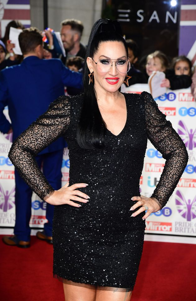 Michelle Visage arriving for the Pride of Britain Awards held at the The Grosvenor House Hotel,