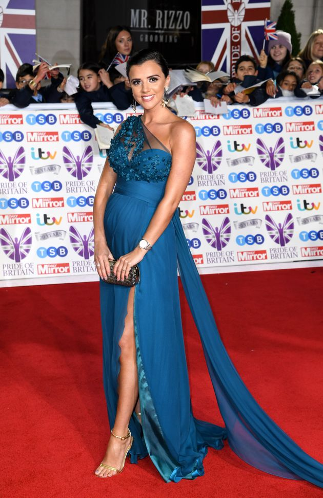 Lucy Mecklenburgh attending the the 2019 Pride of Britain Awards, held at Grosvenor House in London....