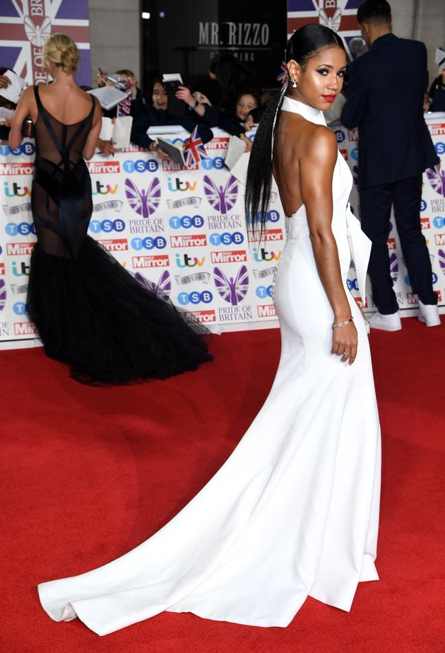 Vick Hope attending the the 2019 Pride of Britain Awards, held at Grosvenor House in London. The Daily...