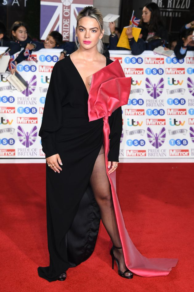 Louisa Johnson attending the the 2019 Pride of Britain Awards, held at Grosvenor House in London. The...