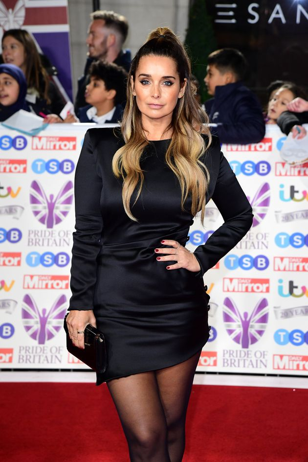 Louise Redknapp arriving for the Pride of Britain Awards held at the The Grosvenor House Hotel,