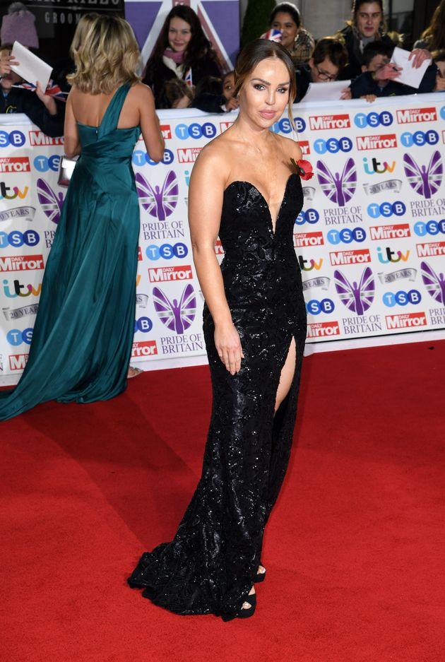 Katie Piper attending the the 2019 Pride of Britain Awards, held at Grosvenor House in London. The Daily...