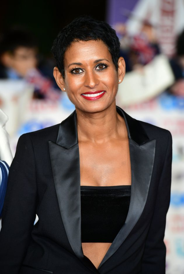 Naga Munchetty arriving for the Pride of Britain Awards held at the The Grosvenor House Hotel,