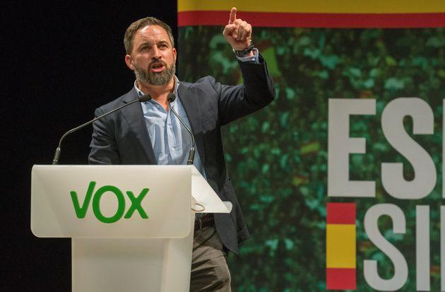 El líder de Vox, Santiago