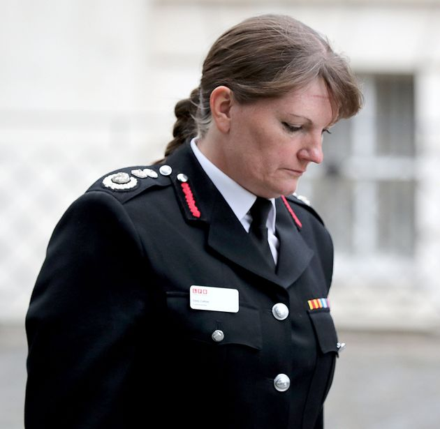 Former London Fire Brigade Commissioner Dany Cotton Dany