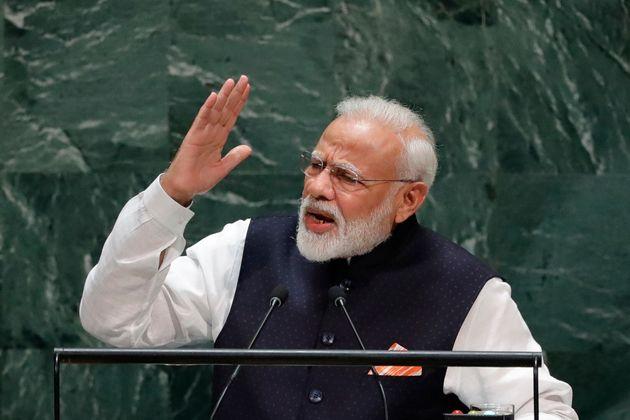 Prime Minister of India Narendra Modi in a file