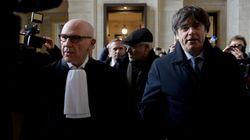 Puigdemont llega a la vista en un tribunal de Bruselas sobre la reactivación de la