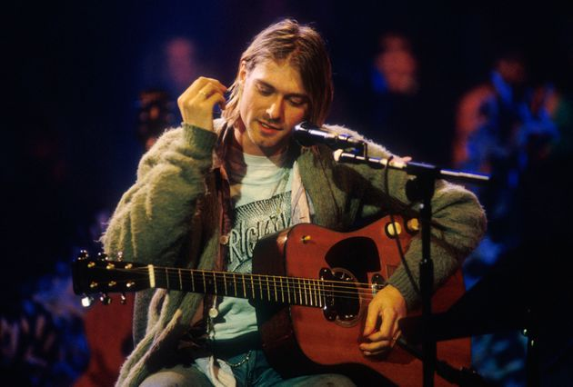 Il capolavoro costruito sul cardigan di Kurt
