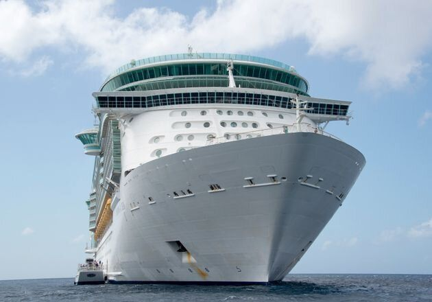 The accident occurred on board the Freedom of the Seas while it was docked in Puerto