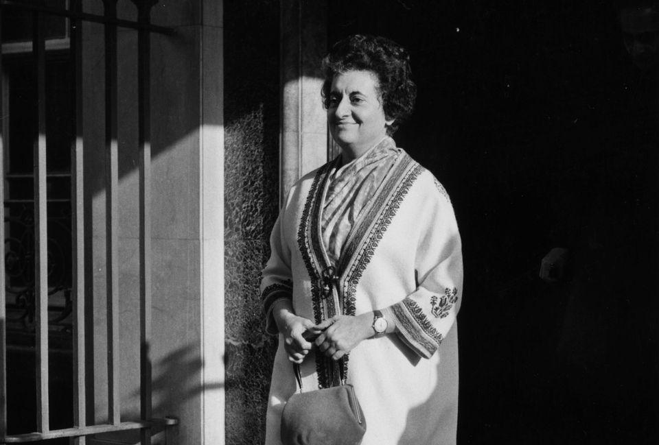 File image of Indira Gandhi from 2 November,