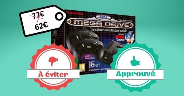 La Sega Mega Drive est en promotion sur Cdiscount, mais est-ce un bon