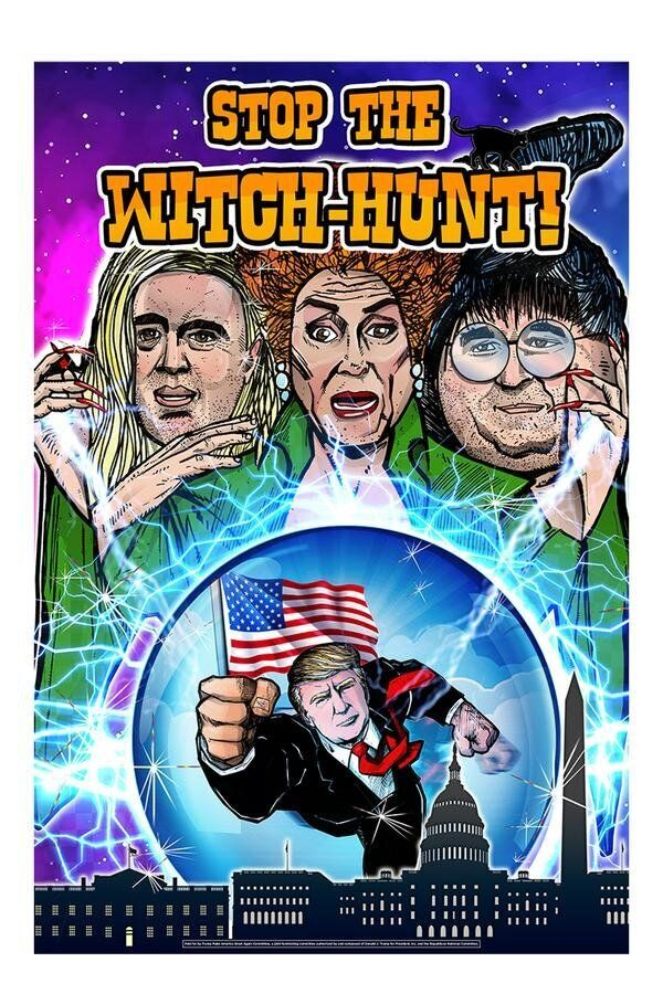Westlake Legal Group 5db813c22100001c3bad4382 'Hocus Pocus' Creator Shreds Trump's Poster Parody: 'Leave Our Witches Alone'