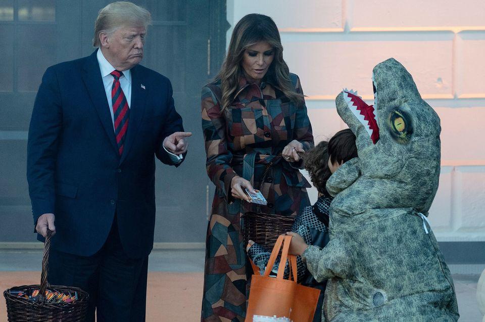 Alla Casa Bianca si festeggia Halloween. E come sempre la protagonista assoluta è