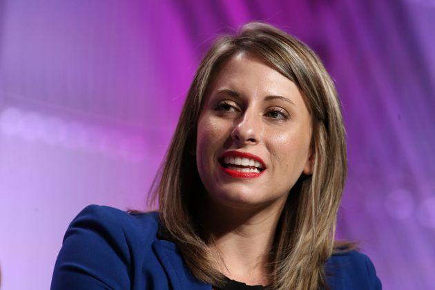 Katie Hill, 32 ans, a été élueen novembre 2018 dans une circonscription de...
