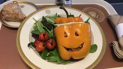 Voici le repas d'Halloween de Donald Trump à bord d'Air Force